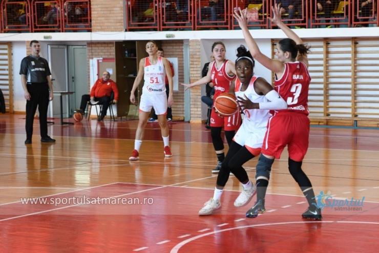 Baschet | CSM Satu Mare și-a aflat programul din faza a doua a Ligii Naționale de Baschet Feminin