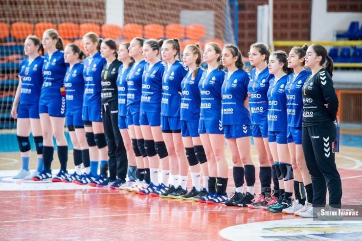 Handbal | Kibedi Sarah, singura sătmăreancă din lotul României care participă la Jocurile Mediteraneene