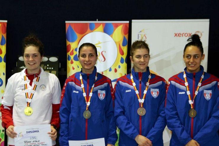 Sătmăreanca Amalia Tătăran, din nou campioană națională la spadă