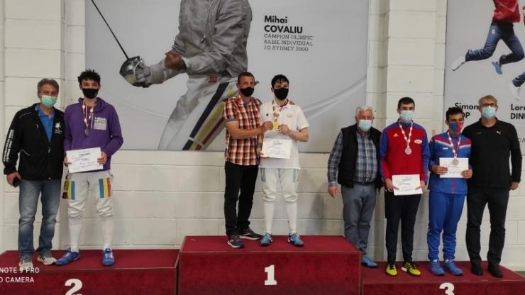Performanță | Alex Oroian, campion național de tineret. Tudor Surducan, medalie de bronz