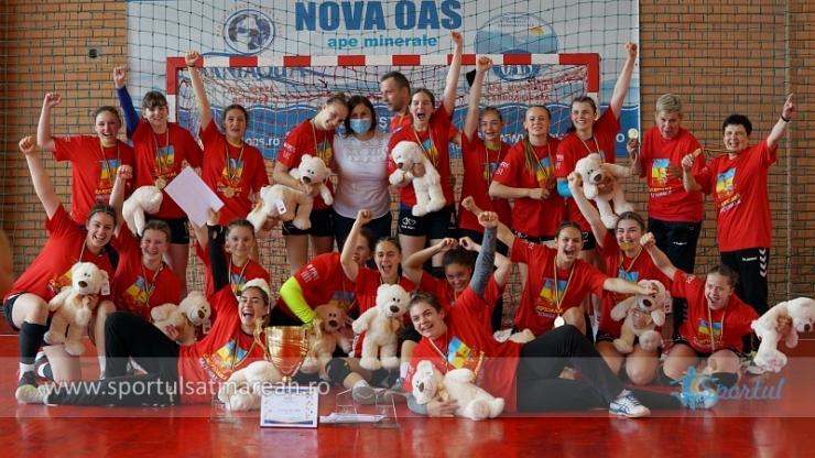 Handbal | CSS 2 Baia Mare, campioană națională la turneul organizat în Satu Mare