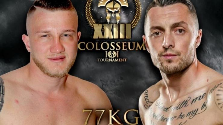 Anghel Cardoș, învingător în gala Colosseum Tournament XXIII