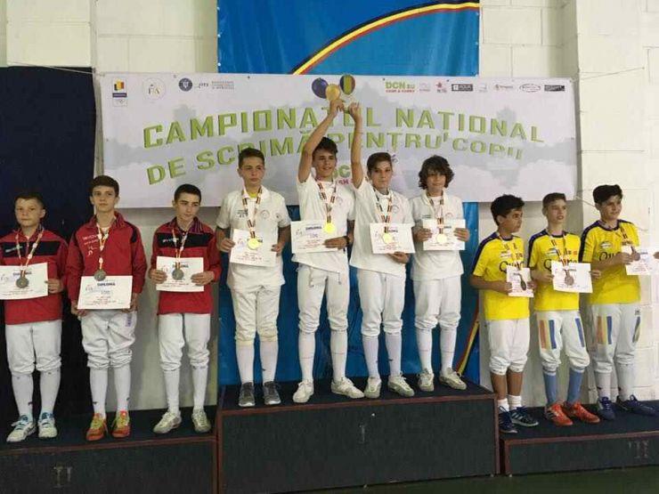 Spadasinii de la CS Satu Mare, vicecampioni naționali în proba pe echipe