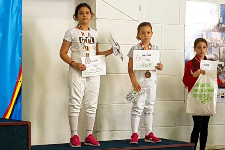 Jasmin Illyeș (LPS Satu Mare), bronz la Campionatul Național de scrimă pentru copii