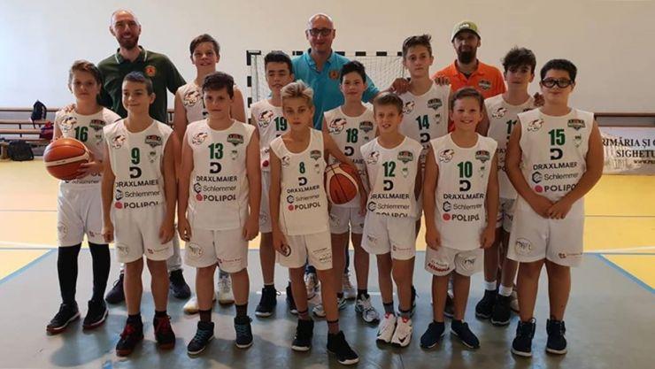 Baschetbaliștii de la ABC Magic Satu Mare au debutat în Campionatul Național U13