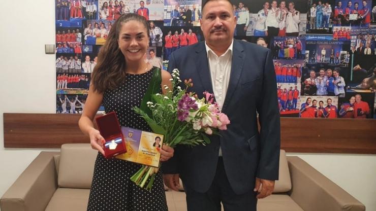 Sătmăreanca Amalia Tătăran este de azi Maestru Emerit al Sportului!