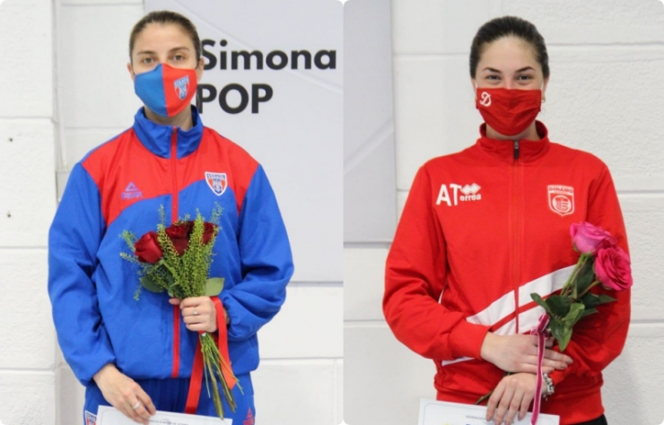 Scrimă | Sătmărencele Greta Vereș și Amalia Tătăran, pe podium la Cupa României la spadă