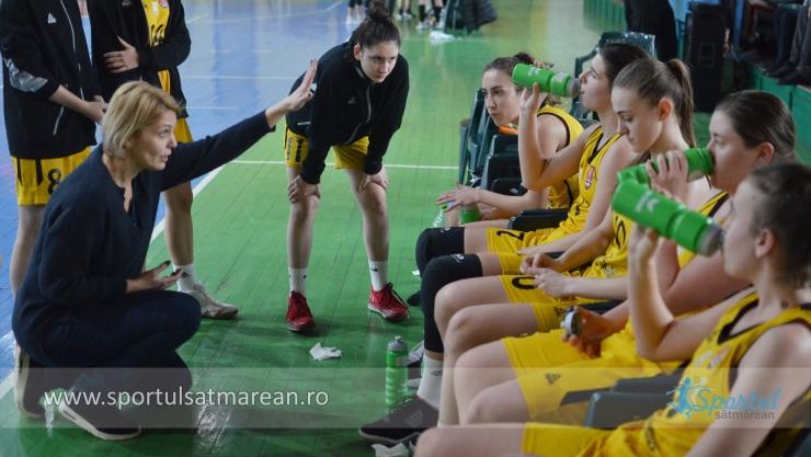 Baschet U18 | Fetele de la LPS Satu Mare s-au clasat pe locul 6 la Turneul Final
