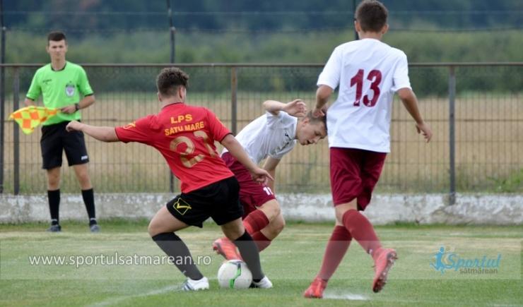 Juniori | LPS Satu Mare a învins CFR 1907 Cluj în etapa a doua a Ligii Elitelor U16