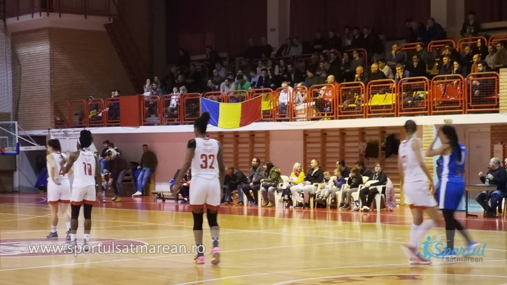 Baschet | CSM Satu Mare a învins Olimpia CSU Brașov în primul meci al anului