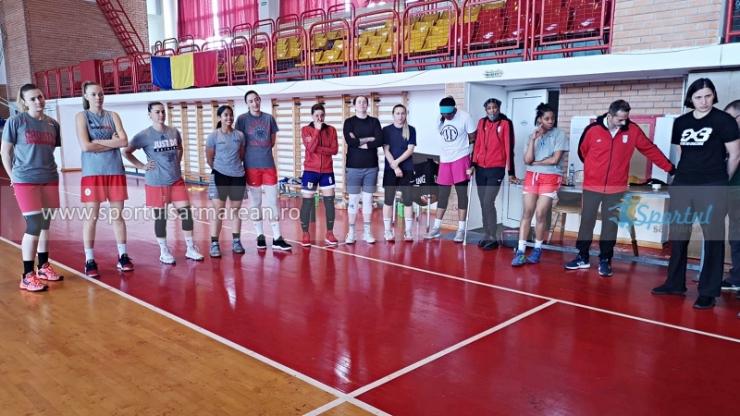 Baschetbalistele de la CSM Satu Mare se pregătesc pentru marea finală cu Sepsi
