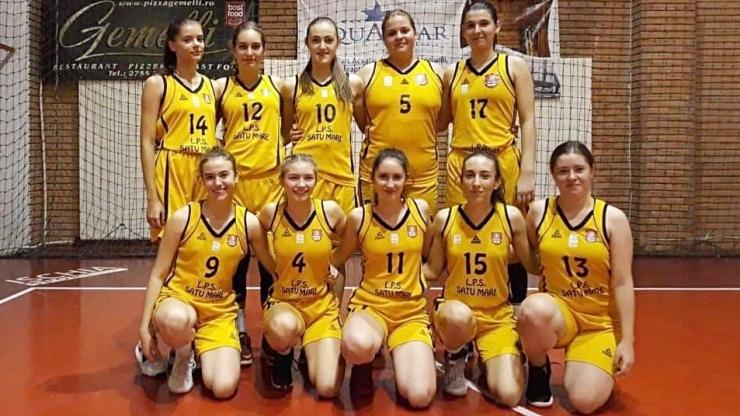 Baschet U18 | Două victorii pentru LPS Satu Mare, la turneul 5 al Campionatului Național