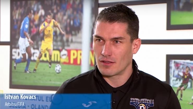 """Istvan Kovacs: """"Scopul meu este să ajung între primii arbitri din Europa, în categoria Elite"""""""