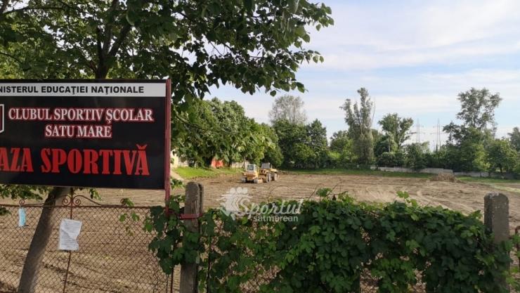 """Au început lucrările de reabilitare a """"Bazei Sportive Dinamo"""""""