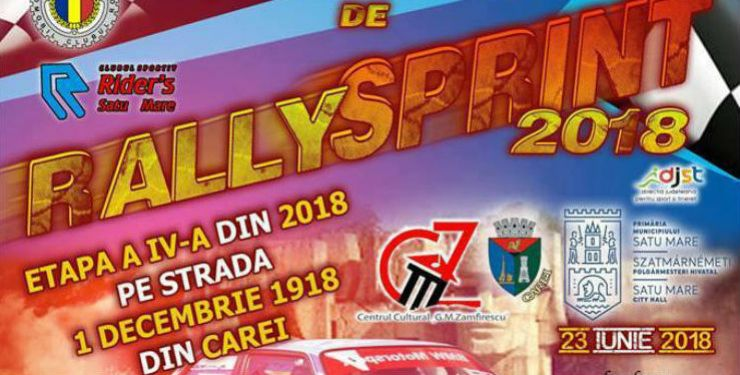 Rezultatele înregistrate în etapa de Rally Sprint, de la Carei