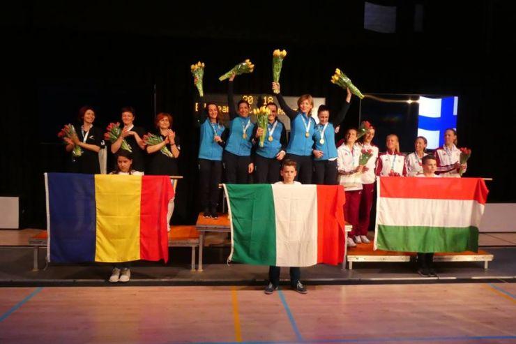 Performanță | Stahl, Szereday și Brendli, vicecampioane europene la floretă veterani