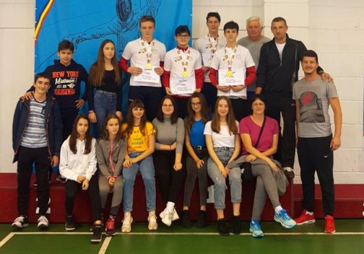 Spadasinii de la CS Satu Mare, campioni naționali în proba pe echipe