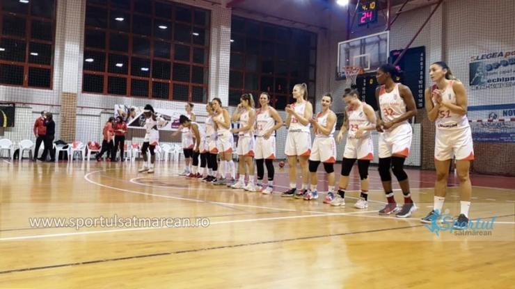 Baschet | CSM Satu Mare, victorie la 20 puncte în deplasare la ACS KSE Târgu Secuiesc