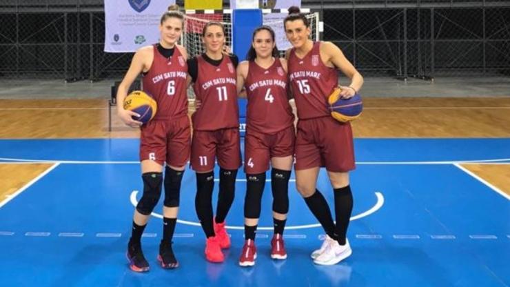 Baschet 3x3 | CSM Satu Mare a câștigat turneul 9 din Cupa României