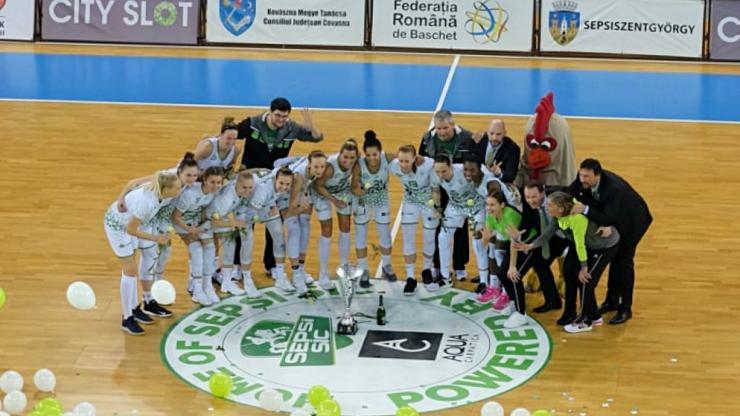 Baschet | ACS Sepsi SIC Sf. Gheorghe a câștigat Cupa României