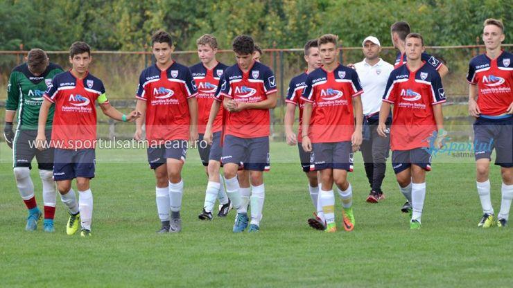 Juniori | Primavera Satu Mare a învins Viitorul Arad în Liga Nord Vest U16