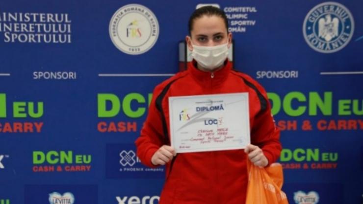 Spadă | Maria Crăciun, locul 5 la Naționalele de juniori