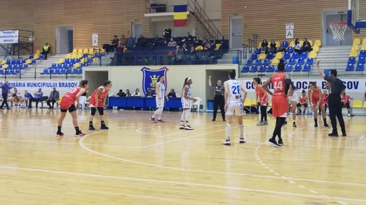 Baschet | CSM Satu Mare a pierdut în deplasare la Olimpia CSU Brașov