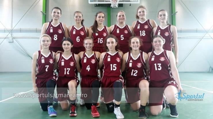 Baschet U18 | Fetele de la LPS CSS Satu Mare au început cu o victorie noul sezon